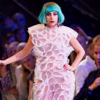 Lady GaGa - The Season Finale of ProSieben TV Show Germany's Next Topmodel 2011