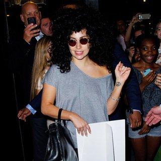 Lady GaGa in Lady GaGa Spotted in New York City