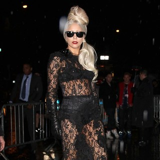Lady GaGa - Lady GaGa Attends The Lady GaGa x Terry Richardson Book Launch Party