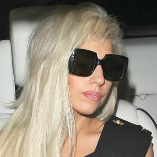 Lady GaGa in Lady GaGa Seen Leaving A Recording Studio at 2AM on Melrose Avenue