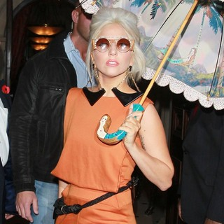 Lady GaGa in Lady GaGa Leaving Her Hotel