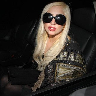 Lady GaGa in Lady GaGa Leaving The Chateau Marmont