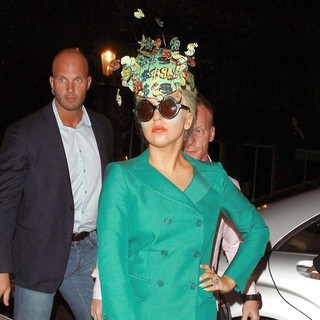 Lady GaGa in Lady GaGa Leaving The Rellik Clothes Store in Notting Hill