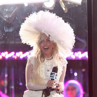 Lady GaGa - Lady GaGa Filming for MTV's TRL