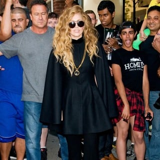 Lady GaGa in Lady GaGa Spotted Out and About in Manhattan