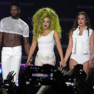Lady GaGa in Lady GaGa Performs to A Sold-Out Crowd at Roseland Ballroom