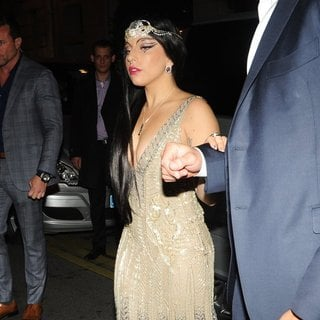 Lady GaGa - Lady GaGa Returns to Her Hotel