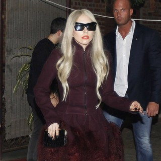 Lady GaGa in Lady GaGa Shopping at The Dilli Haat Handicrafts Market