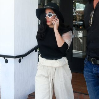 Lady GaGa Shows Off Her Huge Engagement Ring