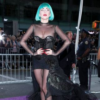 Lady GaGa in The 2011 CFDA Fashion Awards