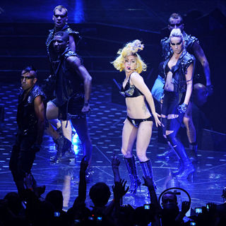 Lady GaGa - Lady GaGa Performs at The 02 Arena