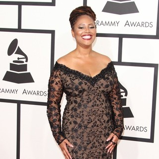 Lalah Hathaway in 57th Annual GRAMMY Awards - Arrivals