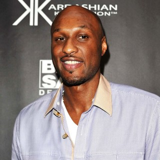 Lamar Odom in Kardashian Kollection Handbag Launch at Hugo's