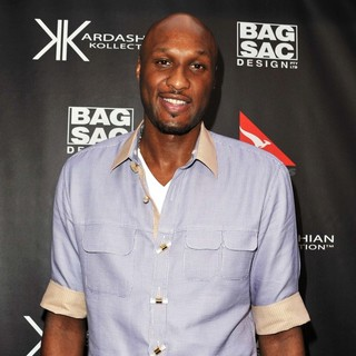 Lamar Odom in Kardashian Kollection Handbag Launch at Hugo's - lamar-odom-kardashian-kollection-handbag-launch-at-hugo-s-02
