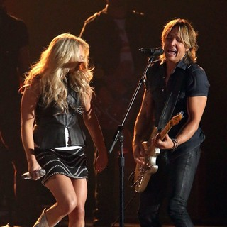 Miranda Lambert, Keith Urban in 47th Annual CMA Awards - Show