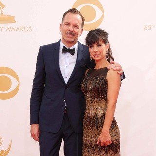Russ Lamoureux, Constance Zimmer in 65th Annual Primetime Emmy Awards - Arrivals