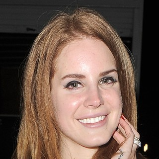 Lana Del Rey in Lana Del Rey Leaves A TV Studio with A Male Companion