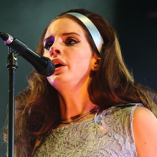 Lana Del Rey in Lana Del Rey Performing Live at Spin Off Festival