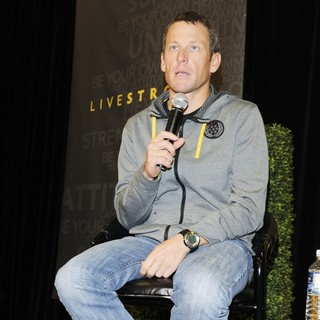 Lance Armstrong in The Launch of LIVESTRONG Fitness Equipment
