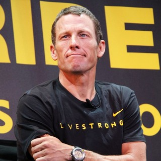 Lance Armstrong in Lance Armstrong and Nike Sportswear Launch Stages