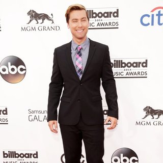 Lance Bass in 2014 Billboard Music Awards - Red Carpet