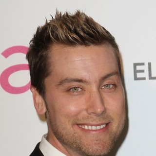 Lance Bass in 21st Annual Elton John AIDS Foundation's Oscar Viewing Party