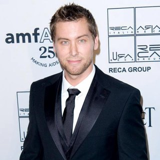 Lance Bass in 2nd Annual amfAR Inspiration Gala - Arrivals