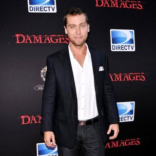 Lance Bass in Damages Season 4 Premiere - Arrivals