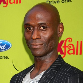 Lance Reddick in 2009 Fox Fall Eco-Casino Party