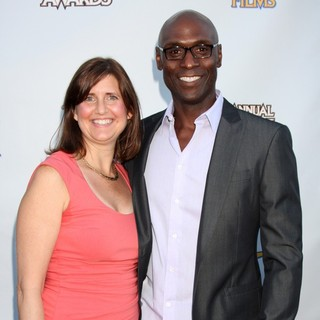 Lance Reddick in The 2012 Saturn Awards