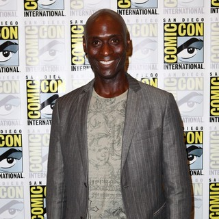 Lance Reddick in Comic Con Day 3 - Fringe Press Room
