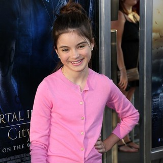 Landry Bender in Premiere of Screen Gems and Constantin Films' The Mortal Instruments: City of Bones
