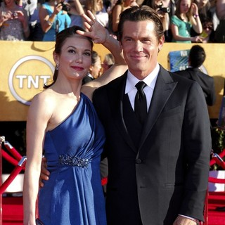 Diane Lane, Josh Brolin in The 18th Annual Screen Actors Guild Awards - Arrivals