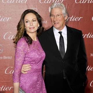 Diane Lane, Richard Gere in 24th Annual Palm Springs International Film Festival Awards Gala - Red Carpet