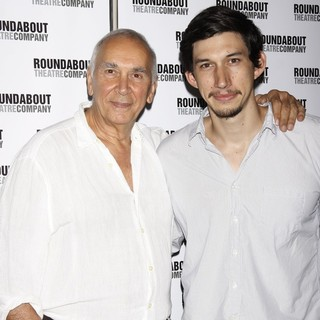 Frank Langella, Adam Driver in Meet and Greet with The Cast of The Broadway Production of Man and Boy
