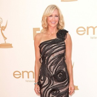 Lara Spencer in The 63rd Primetime Emmy Awards - Arrivals