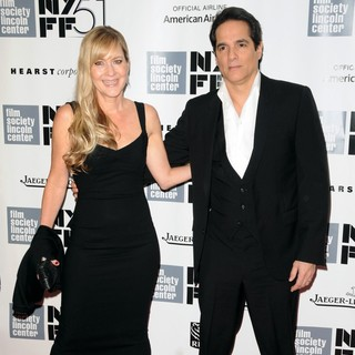 Linda Larkin, Yul Vazquez in The 51st New York Film Festival - Captain Phillips World Premiere - Red Carpet Arrivals