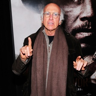 Larry David in New York Premiere of Lone Survivor - Red Carpet Arrivals