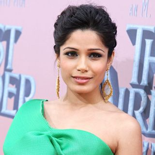 Freida Pinto in Premiere of 'The Last Airbender' - Arrivals