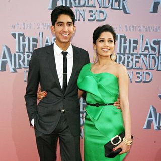 Dev Patel, Freida Pinto in Premiere of 'The Last Airbender' - Arrivals