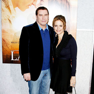John Travolta, Kelly Preston in Los Angeles Premiere of 'The Last Song'