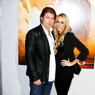 Billy Ray Cyrus, Tish Cyrus in Los Angeles Premiere of 'The Last Song'
