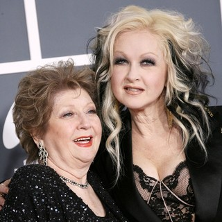 Catrine Lauper, Cyndi Lauper in 54th Annual GRAMMY Awards - Arrivals