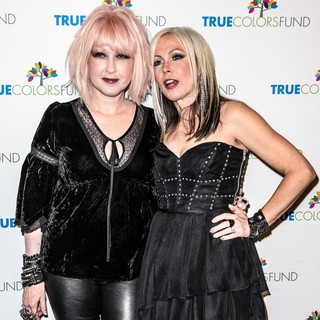 Cyndi Lauper and Friends: Home for The Holiday's Concert - Arrivals - lauper-nunn-home-for-the-holiday-s-concert-01