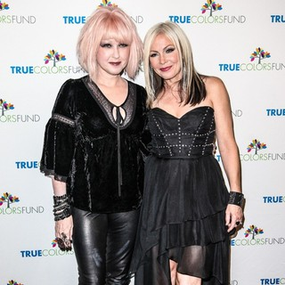 Cyndi Lauper and Friends: Home for The Holiday's Concert - Arrivals - lauper-nunn-home-for-the-holiday-s-concert-02