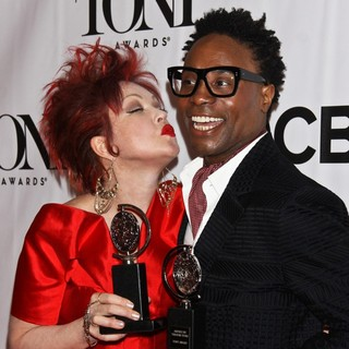 Cyndi Lauper, Billy Porter in The 67th Annual Tony Awards - Press Room