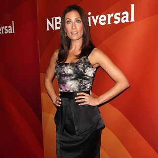 Laura Benanti in NBC Universal Press Tour