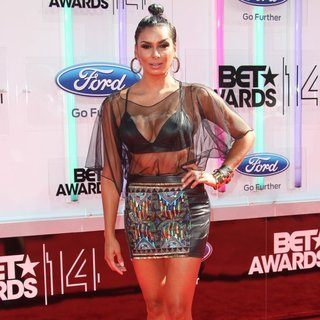Laura Govan in The 2014 BET Awards - Arrivals