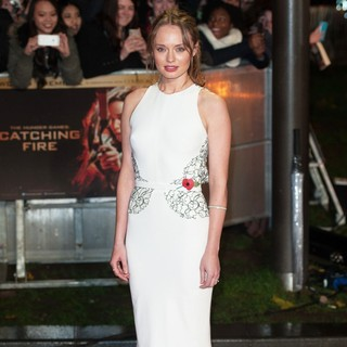 Laura Haddock in The World Premiere of The Hunger Games: Catching Fire - Arrivals