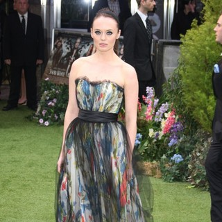 Laura Haddock in World Premiere of Snow White and the Huntsman - Arrivals